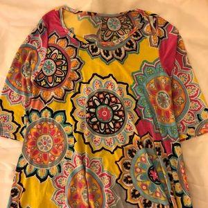 Tops - Multi colored tunic